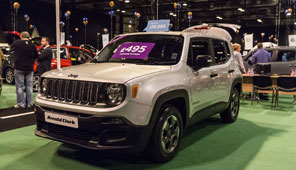 Image of Jeep at Motability event