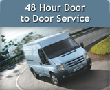 48 Hour Door to Door Service