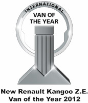Van of the Year 2012