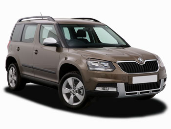 Brand new ŠKODA Yeti Outdoor