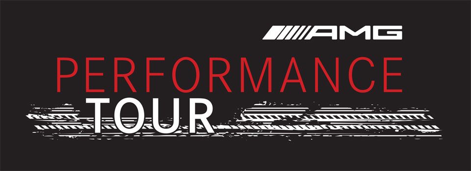 AMG performance tour enquiry header