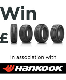 Buy a tyre, win a thousand pounds