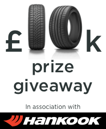 Buy a Hankook tyre and enter our £10,000 giveaway draw!