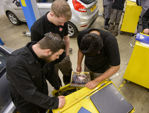 Get into Cars Prince's Trust Technicians training