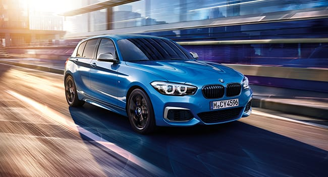 Blue 1 Series Shadow Edition.