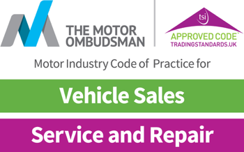 Motor Industry code of practice - Service & Repair