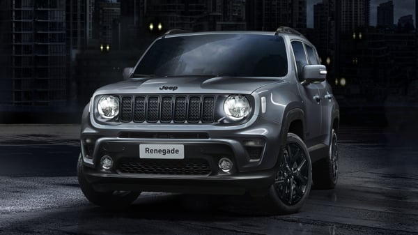 New Jeep Renegade Night Eagle in Granite Crystal
