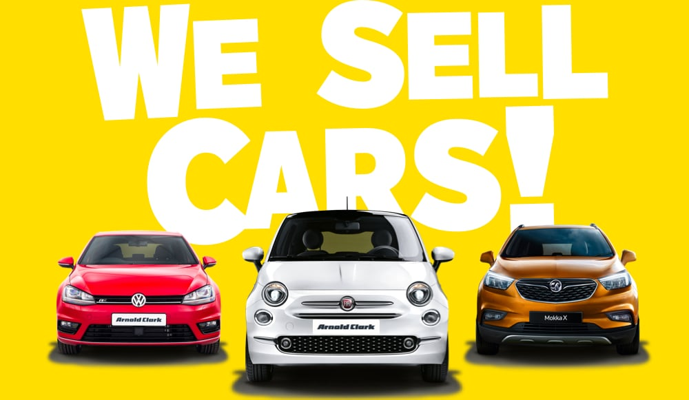 We sell cars!