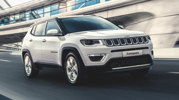 New Jeep Compass 1.4 Multiair Limited in white